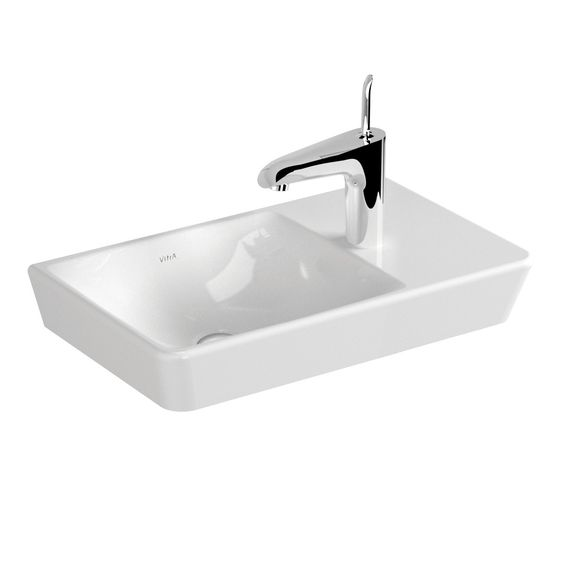 Vitra T4 Wall Basin Compact 500mm X 300mm Rogerseller