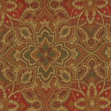 medallion fabric draperies - Google Search