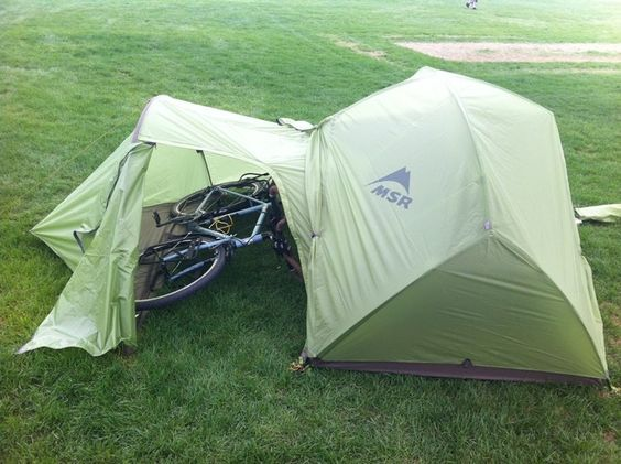 Msr Hubba With Gear Shed The Mutha Hubba 3 Person
