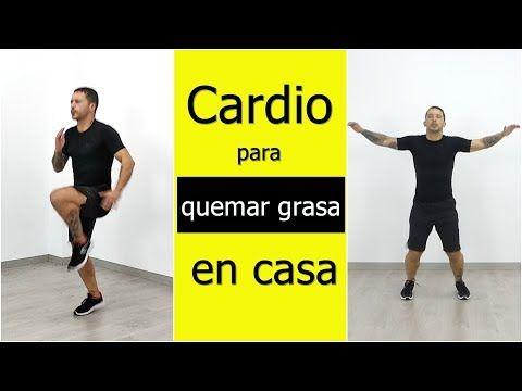Ejercicios Cardiovasculares Para Quemar Grasa De Todo El Cuerpo En Casa Youtube Cardio Para Quemar Grasa Ejercicios Quema Grasa Ejercicios Cardiovasculares