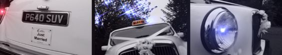 Wedding Taxis - Surrey, Sussex & South London - White London Taxis