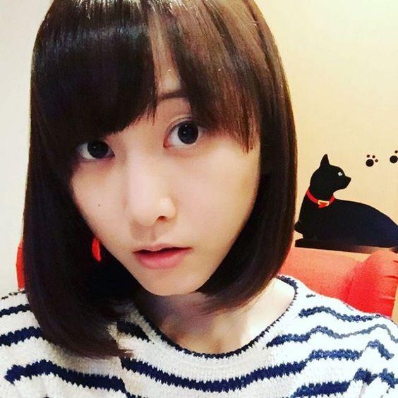 松井玲奈、ボブヘアーに!  ばっさりイメチェンで「マジ女神」 (クランクイン!) - Yahoo!ニュース