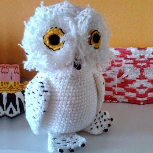 Patrones Amigurumi Harry Potter : Patrones Amigurumi: ANIMALES DEL BOSQUE Harry Potters Owl ...