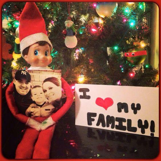 Frankie Loves his family