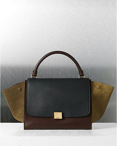 celine bag mini luggage price - AHHHH I want this CELINE TRAPEZE IN MULTICOLOR CALFSKIN JUNGLE bag ...
