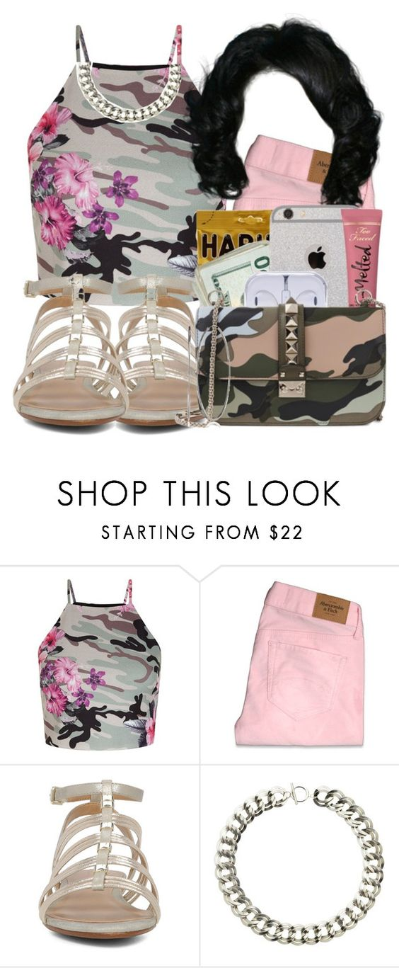 """✨"" by itsdejjj ❤ liked on Polyvore featuring New Look, Abercrombie & Fitch, ALDO, Monet, Kenneth Cole and premades"