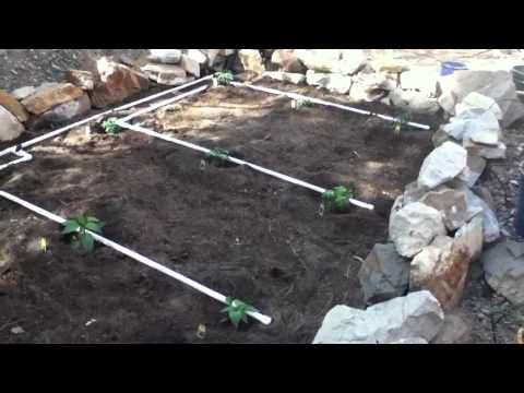 Build a PVC Garden Irrigation System PVC PIPE DIY