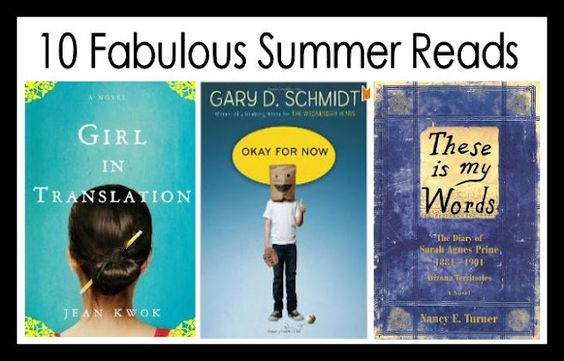 10 fabulous summer reads by @jamiecooksitup