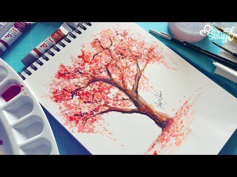 Curso De Acuarela Para Principiantes Como Pintar Amapolas