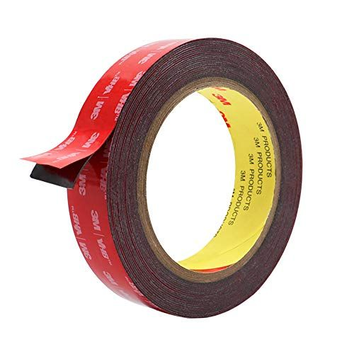 Double Sided Tape Hitlights 3m Vhb Mounting Tape Heavy Duty Waterproof Foam Tape 16ft Length 0 94 Inch Width For Car Mounting Tape Double Sided Tape Tape
