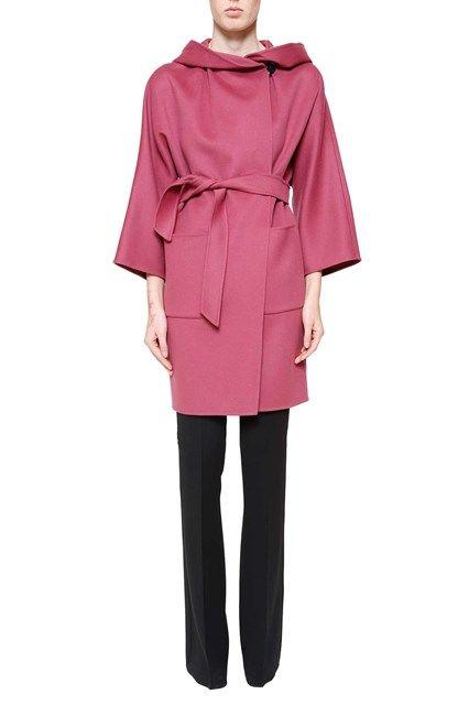 MAX MARA 'Matera' belted wool coat:
