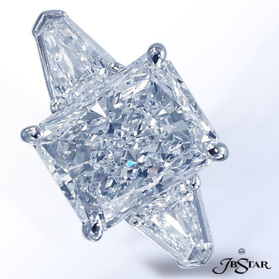 JB Star radiant diamond with shield diamonds.