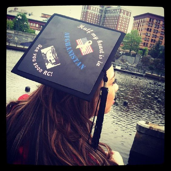 Decorated Grad Caps from Tasseltoppers.com