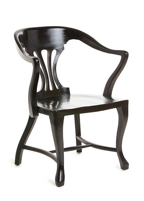 """Blackbird / """"Alain"""" arm chair"""