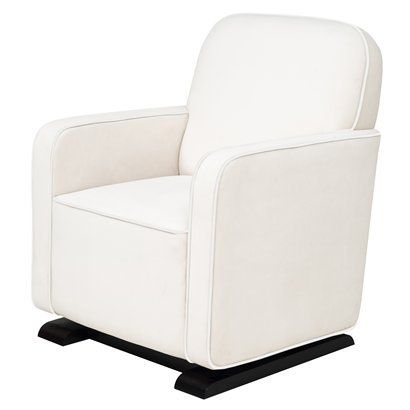 Babyletto Kyoto Glider -Ecru Suede. I'm saving my pennies for this baby.