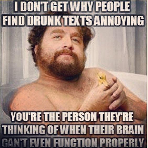 Drunk texts