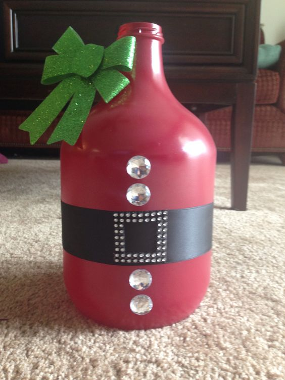 #Christmas #jar #diy #Crafty.