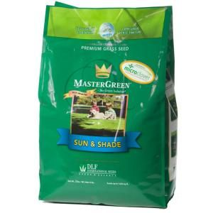 MasterGreen 3 lb. Sun and Shade South Grass Seed with Micro Clover $13