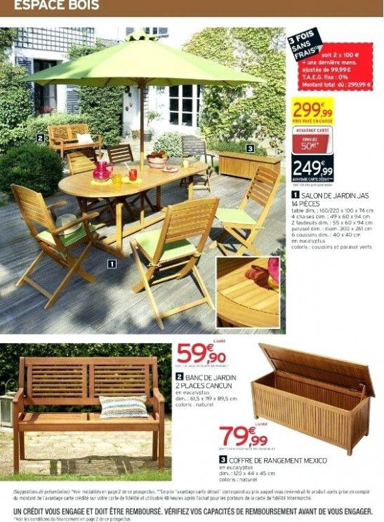 Salon De Jardin Intermarche In 2020 Outdoor Furniture Sets