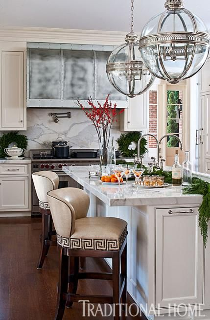 Marble Countertops And Backsplashes Define Elegance In The