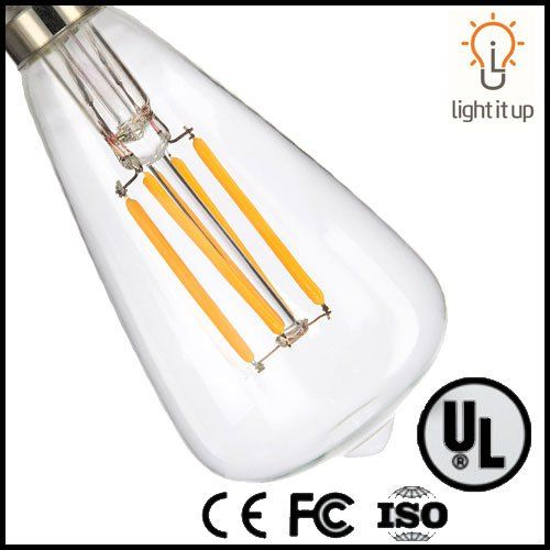 Light Itup S19 2watt Led 35watt Equivalent Antique Filament Candelabra E12 Base Warm White 2700k Light Bulb Look Into This Wonde Light Bulb Bulb Candelabra