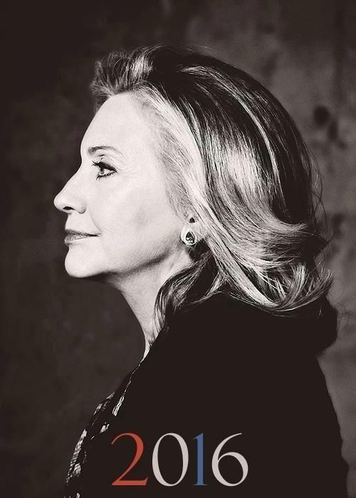 From I'm Voting for Hillary Clinton in 2016. https://www.facebook.com/ImVotingForHillaryClintonIn2016. Hilary Clinton will be the first female US President.: