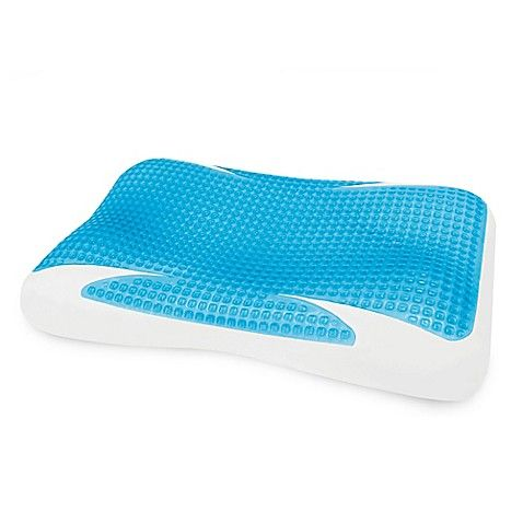 Therapedic Gelmax Contour Pillow Foam Pillows Contour Pillow