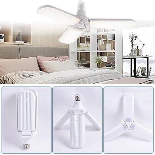 Foldable Fan Blade Led Light Bulb Inspiring Product Led Light Bulb Led Lights Adjustable Lighting