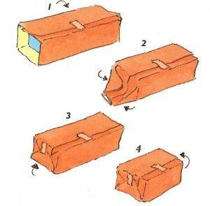Stappenplan pakjes maken