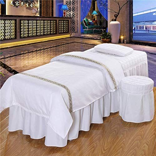 The Perfect Massage Table Sheet Sets Beauty Bed Cover Four Piece