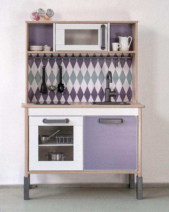 Pimp your Ikea DUKTIG kitchen with the sticker set by Limmaland - ikea küche udden gebraucht