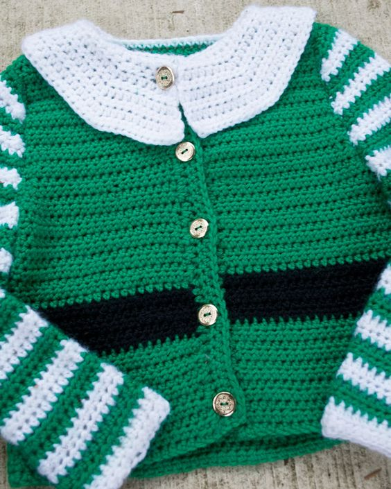 Free baby elf sweater pattern for crochet. Knit ...