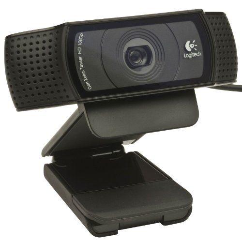 logitech c920 linux 1080p camcorder