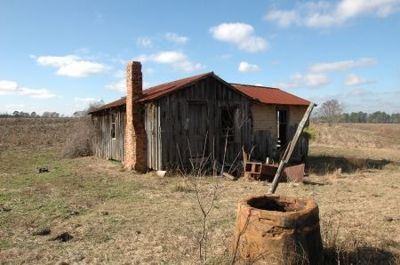 tar paper tenant houses | South Georgia Wells} | Vanishing South Georgia Photographs by Brian ...