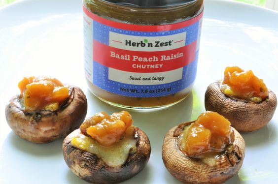 Looking for bite-sized recipe ideas for your summer entertaining? Look no more. These yummy sweet and savory stuffed mushrooms are so easy to make, you can make