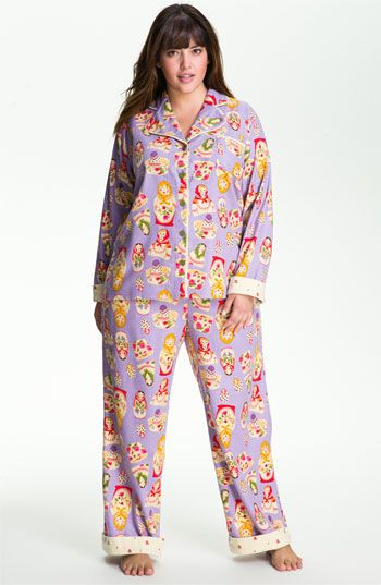 Munki Munki Print Flannel Pajamas (Plus) available at Nordstrom $72