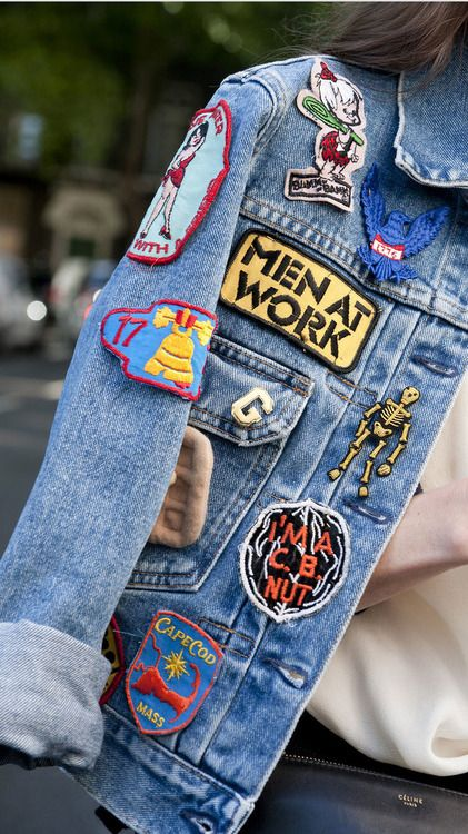 LFW Denim More Fashion Week Street Style…: