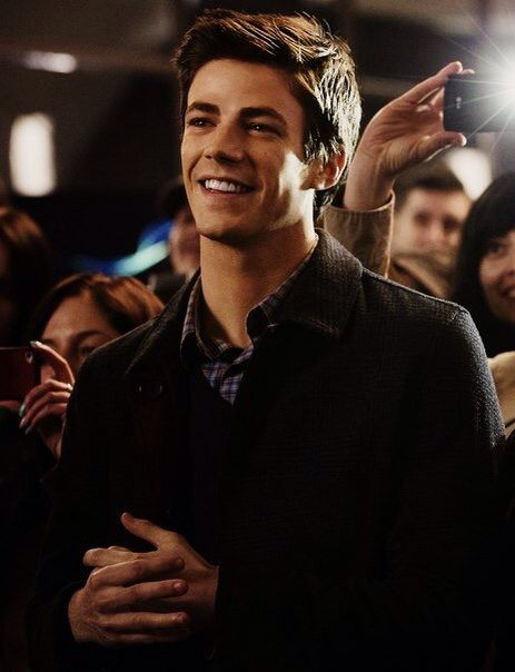 Doesn't Grant Gustin have just the sweetest smile?