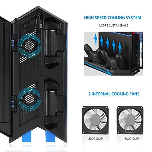 Shop Cooling Fan Ps4 Vertical Stand Fan