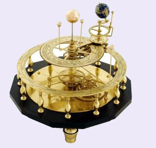 orrery. more potential inspiration for ceiling light fixture (chandelier?).