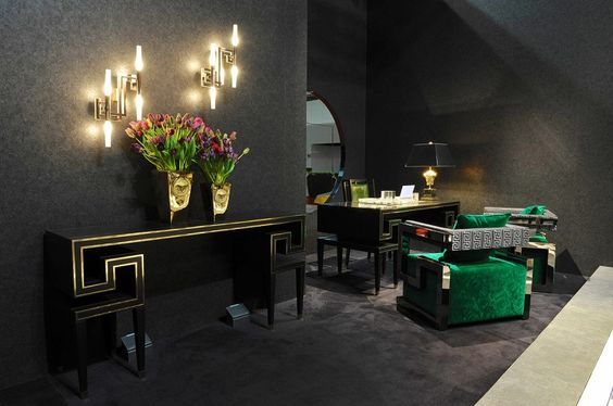 versace home collection 2014 | versace home and minotti: high-end, Attraktive mobel