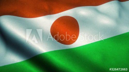Niger Flag Waving In The Wind National Flag Of Niger Sign Of Niger 3d Illustration Affiliate Waving Flag N In 2020 National Flag Niger Flag 3d Illustration