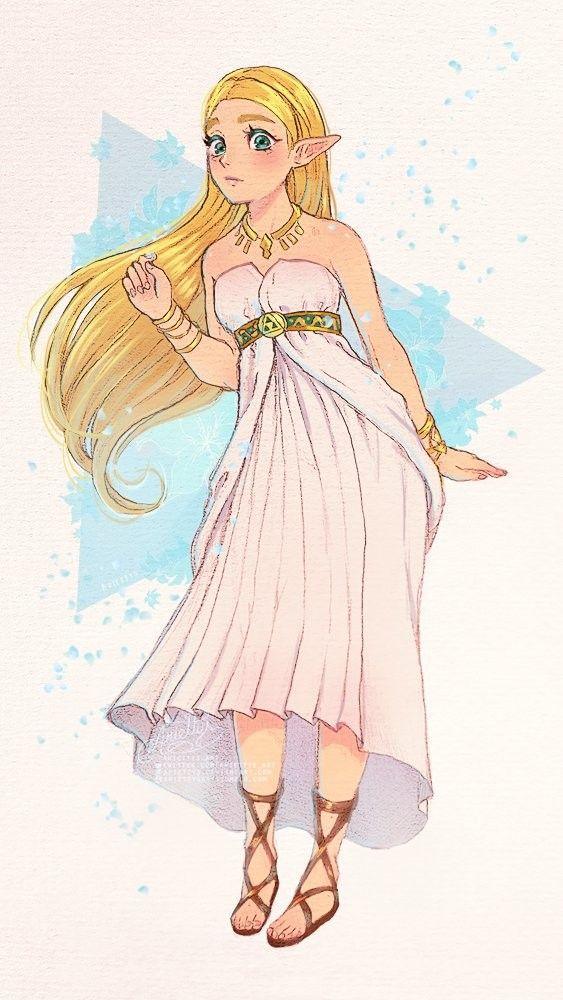 Legend Of Zelda Breath Of The Wild Art Princess Zelda Zelda Drawing Legend Of Zelda Legend Of Zelda Breath