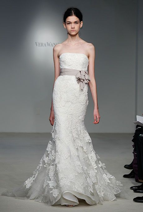 """""""Hilary"""" dress from Vera Wang's latest spring 2012 collection. love love love"""