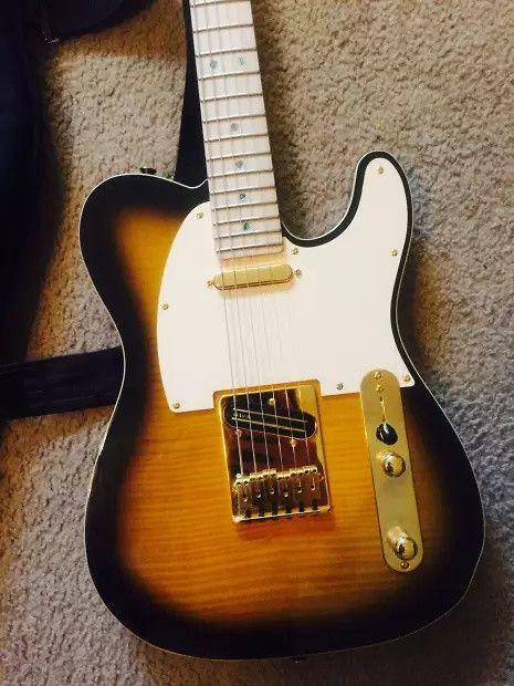 Fender Richie Kotzen Telecaster 2014 Sunburst | Reverb