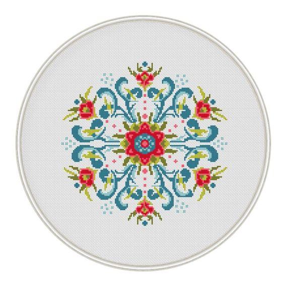 Vintage Design Cross Stitch Pattern cross by MagicCrossStitch