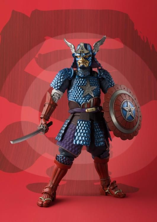 Bandai Meisho Manga réalisation Samurai Captain America en stock USA