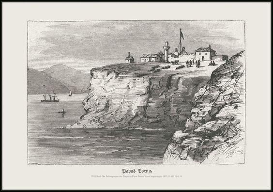 All sizes | 3782 Buch Die Befestigungen des Bosporus Papas Bornu Wood engraving ca 1875. S. 425 Heft 18 Das Buch für Alle. | Flickr - Photo Sharing!