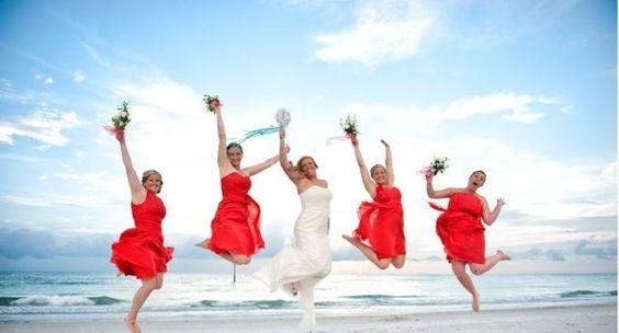 Fun Beach Weddings. - Pedro Carillo Photographer . http://gulfbeachweddings.com - http://plcarrillophotography.com/