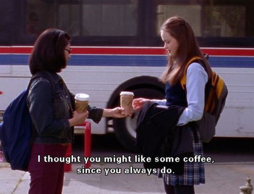 Image result for Lane and Rory Gilmore Girls gif